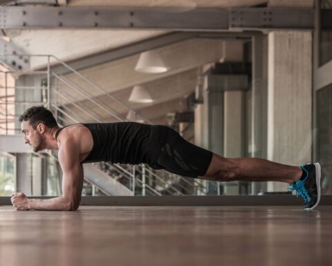 plank for abs