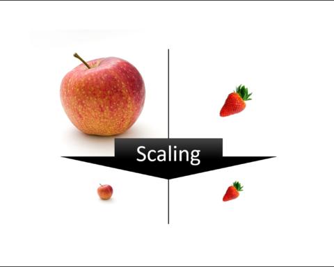Small Data Scaling